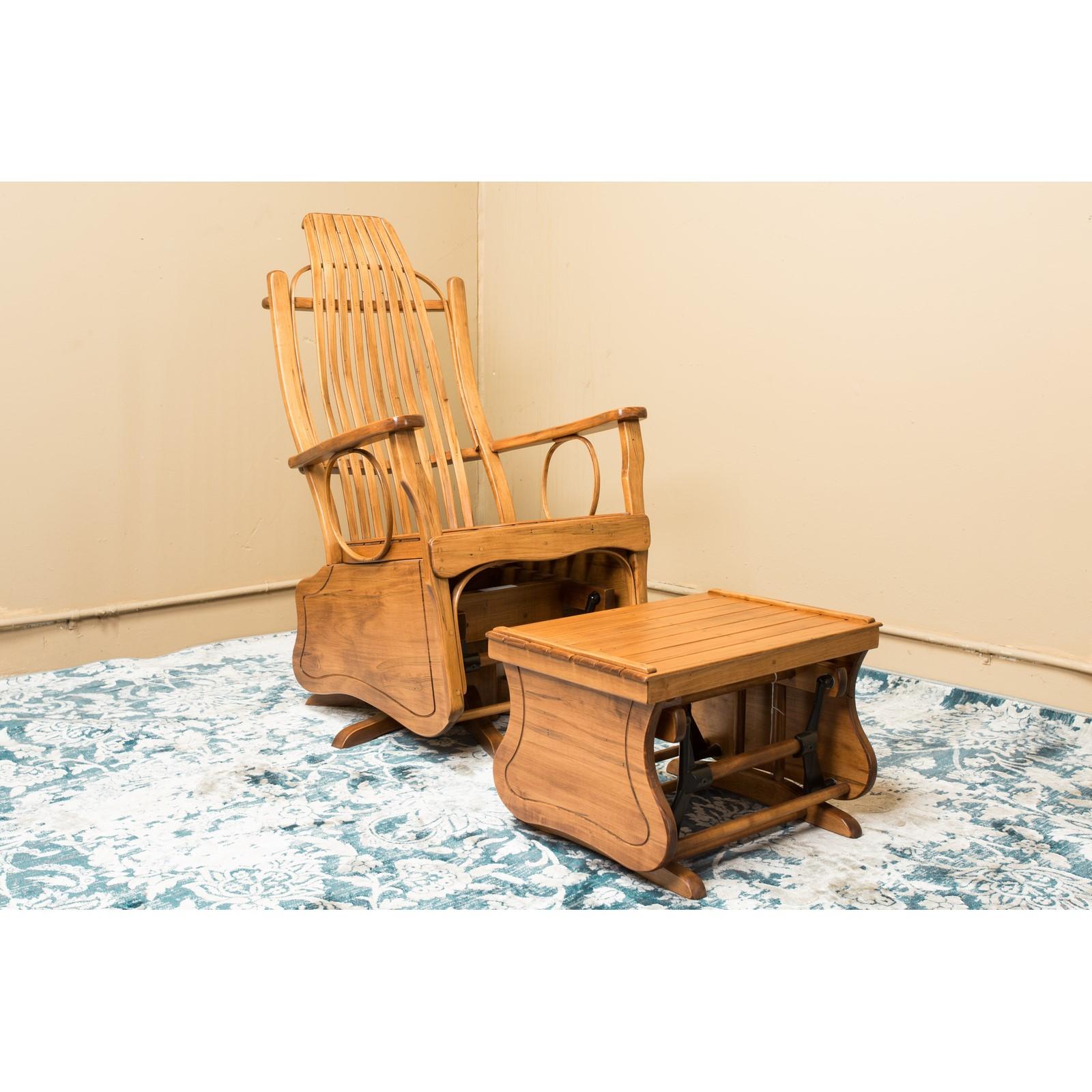 rocker chair sg hitchcock rocking stonebase swivel glider and ottoman