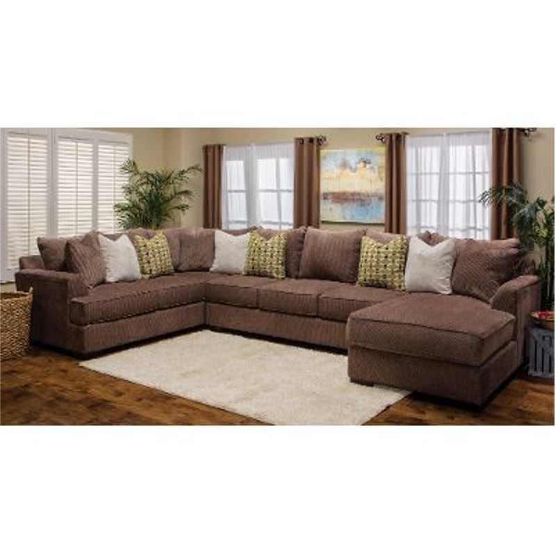 large sectional sofa with ottoman mattress for michael nicholas designs 3 pc fortune | stewart ...