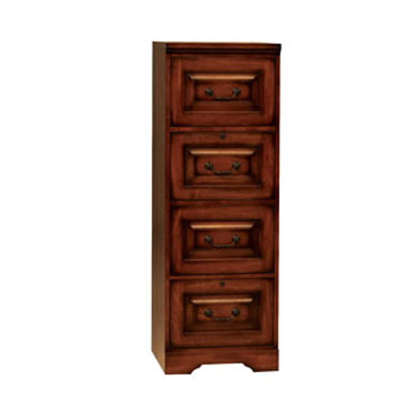 Winners Only Country Cherry 4 Drawer File Cabinet