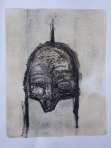 Mask, Monoprint, 2019, £30