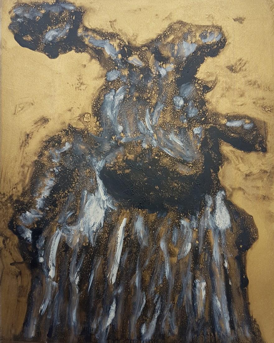 Stump #87, Monoprint, 25cm x 20cm, £30