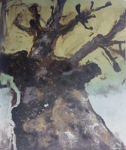 Stump#120, Monoprint, 36cm x 30cm, £100