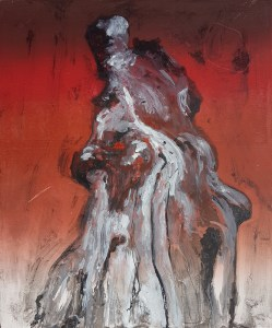 Stump #127, Monoprint, 36cm x 30cm, £100