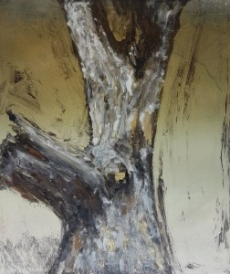 Stump #131, Monoprint, 36cm x 30cm, £100