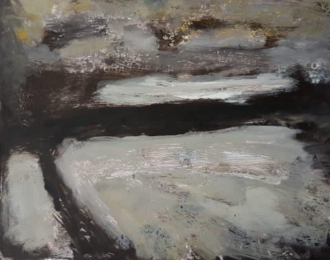 Empty Landscape V, Monoprint, 32cm x 24cm, £35