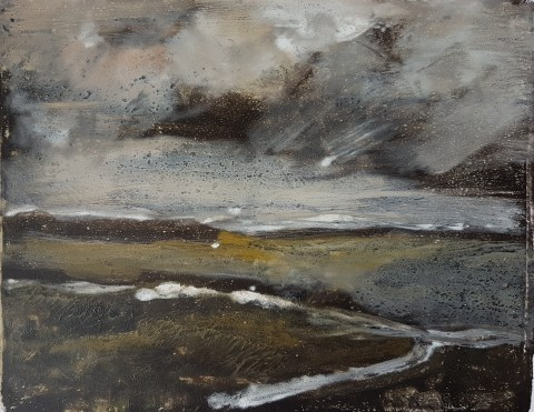 Empty Landscape VII, Monoprint, 32cm x 24cm, £40