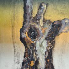 Stump #165, Monoprint, 36cm x 30cm *SOLD*