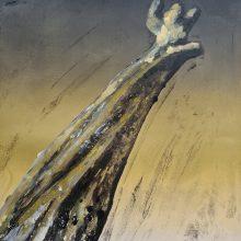 Stump #188, Monoprint, 36cm x 30cm, £120