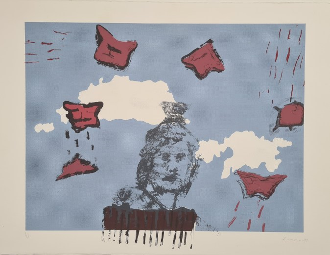 More Battles, Silkscreen, 2007, 1 Edition, £150