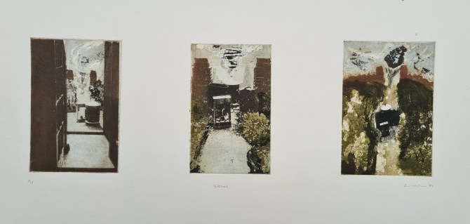 Untitled (#5, Degree Show '94), Photoetching, AP, NFS