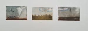 Untitled (#6 [Bognor], postgrad '94), Photoetching, AP, NFS