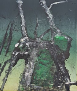 Stump #204, Monoprint, 36cm x 30cm