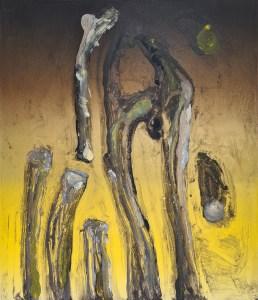 Stump #203, Monoprint, 36cm x 30cm