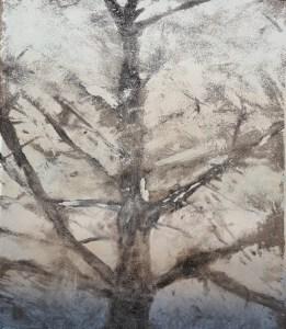 Ojai #23, Monoprint, 29cm x 35cm