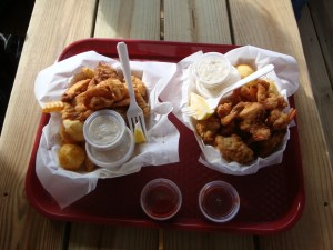 Fried Shrimp in Fort Walton