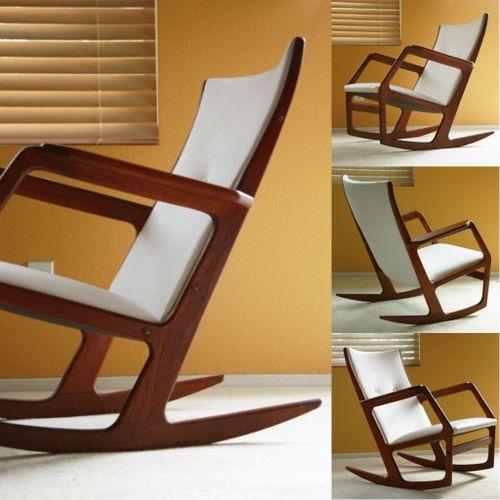 danish modern rocking chair hon task rockers the mid century modernist