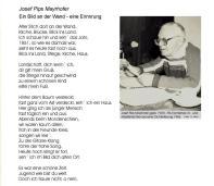 1986 - Jos.Pips Mayrhofer Erinnerung