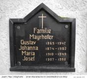 Josef Pips Mayrhofer.Urnengrab