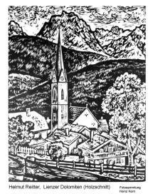 1950ca - Georg Reitter.Lienzer Dolomiten