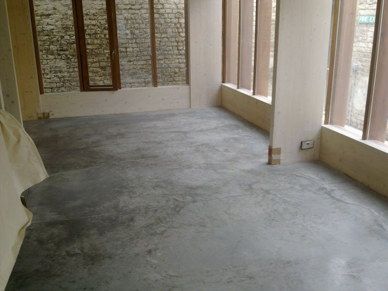 Natural Power Float Concrete Floors, Hugh Strange
