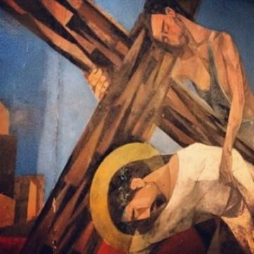 Christ Carrying Cross Mansanella