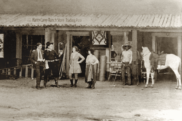 Harry Carey Ranch Store Trading Post, destroyed in the St. Francis Dam disaster.