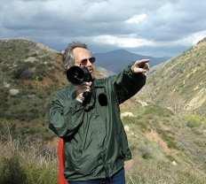 Frank Rock leading a dam tour.