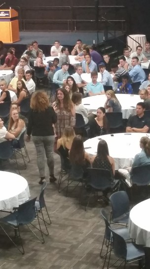 Nova answering audience questions