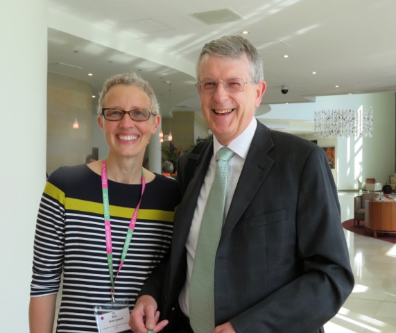 Dr. Pia Ostergaard and Dr. Peter Mortimer