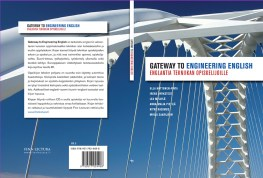 "Cover and lay-out design for ""Gateway to Engineering English"" study book. Published by Finn Lectura 2010."