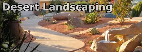 desert landscaping maintenance