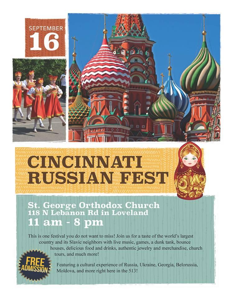 Russian Fest – Entertainment Schedule