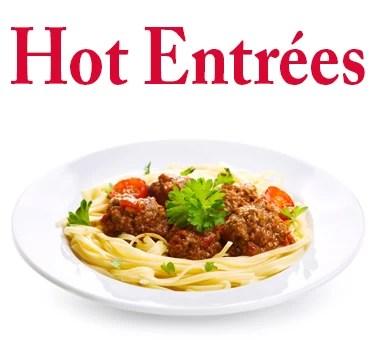 Hot Entrees-menu
