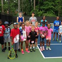 Youth Tennis Players