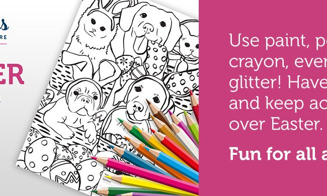 St Giles Animal Rescue Easter Colouring-in Competition