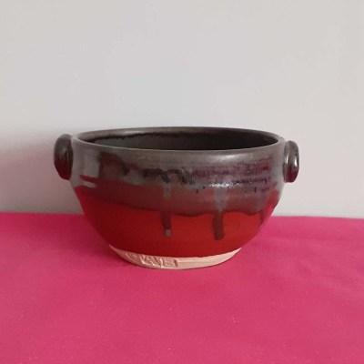 Multi-coloured Pottery Bowl