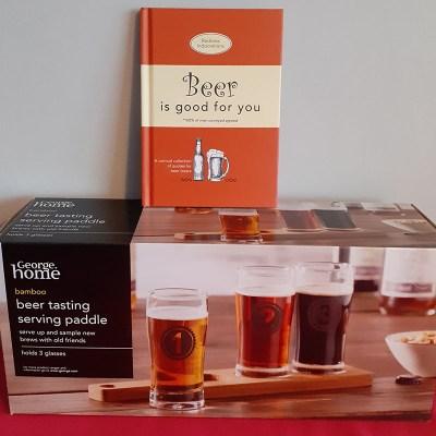 Beer Book & Serving Paddle