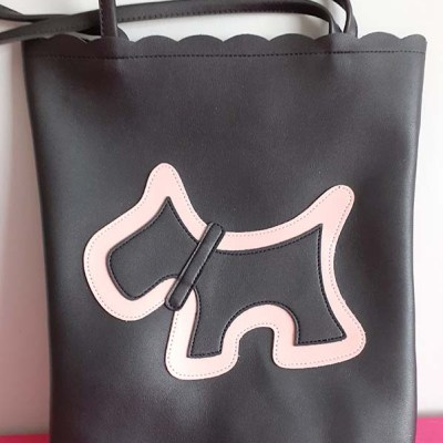 Large Bag with Scottie motif