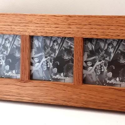 Wooden Multi-Photo Frame