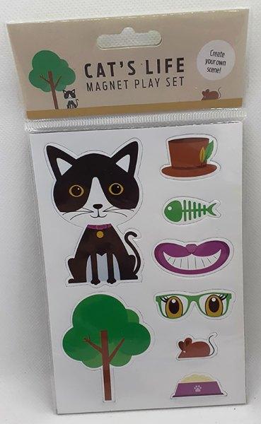 Cat's Life Magnet Play Set