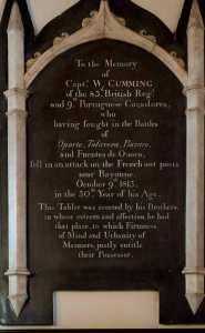 The Cumming Memorial