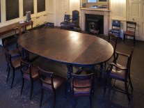 St Giles Vestry Room - boardroom set-up