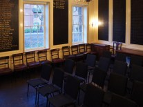 St Giles Vestry Room - arranged for talk