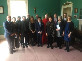 Choir trip Ayton Castle