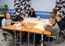 Pupils at the new Centre for disabled teenagers
