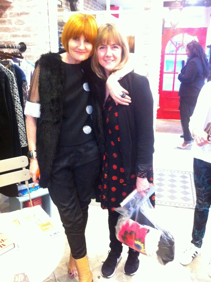 Mary Portas and Emma Neuberg, 2015