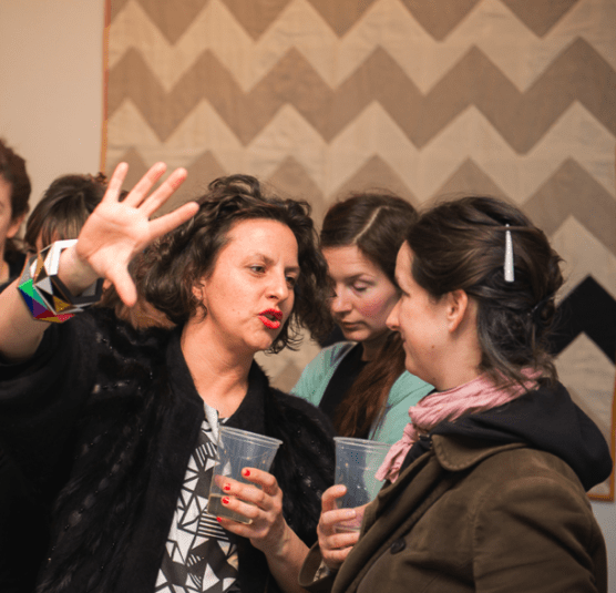 Camille Walala and Ele Carpenter at The Geometrics: Volume 1