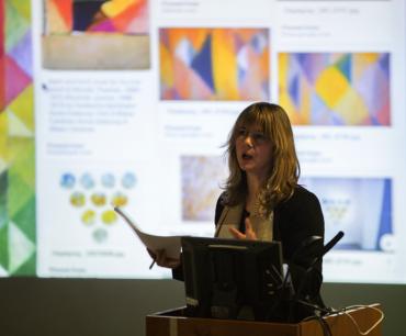 Emma Neuberg talks her work, 2016