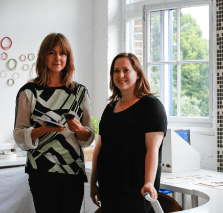 Emma Neuberg and Daisy McMullan, Slow Textiles Group, 2014