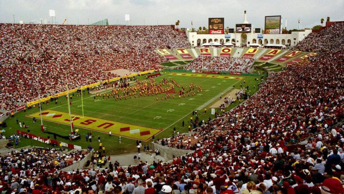 USC Trojans stadium Los Angeles Memorial Coliseum